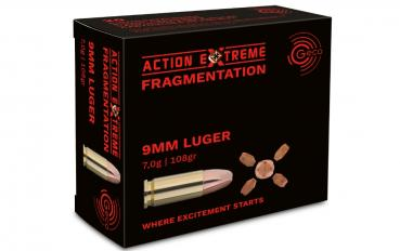 GECO 9mm Luger  ACTION EXTREME Fragmentation