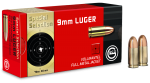 GECO 9mm Luger Special Selection Vollmantel-Rundkopf